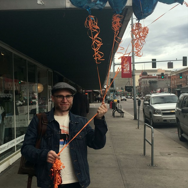 Balloons and Fun at the MICFF