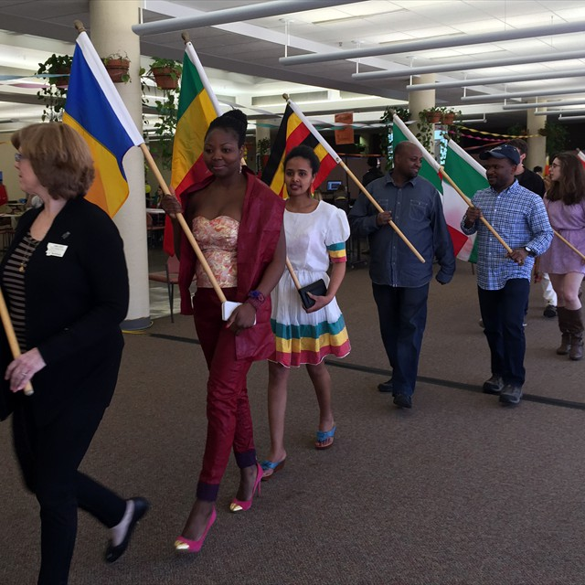 International Student Parade